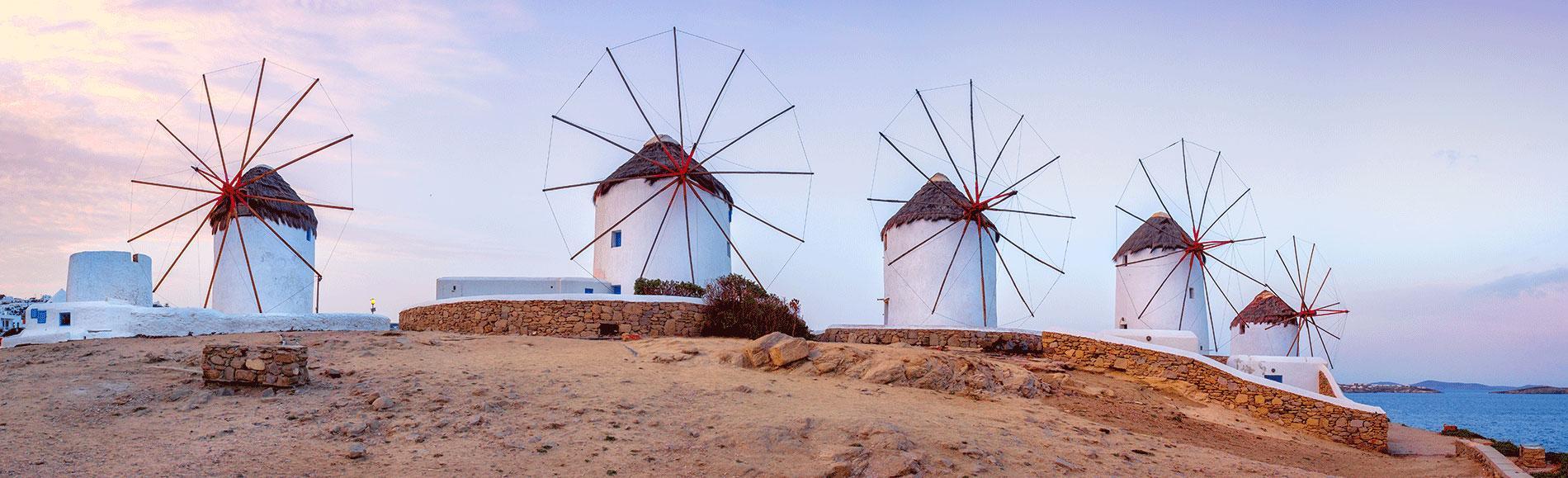 Shore Excursion from Mykonos port: Ancient Delos & Chora Walking Tour
